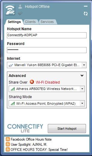 Как wifi сделать пароль